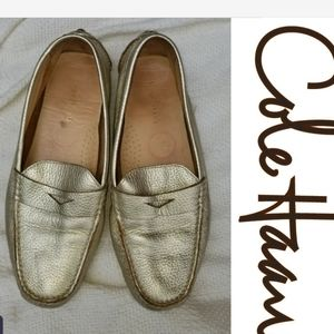 Cole Haan pebbled leather driving flats 8.5